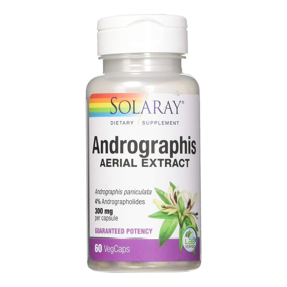 Andrographis Extract - 300 mg - 60 Caps - Solaray