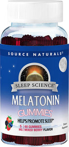 Melatonin Gummies - 5mg  - Source Naturals