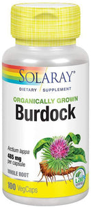 Burdock - 100 Caps - Solaray