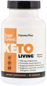 Keto Living - Sugar control - 90 caps