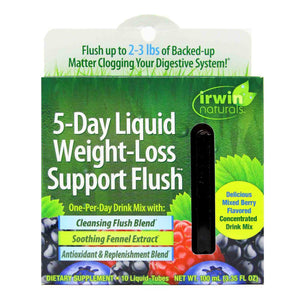 5-Day Liquid Weight-Loss Support Flush - 10 tubes - Irwin Naturals