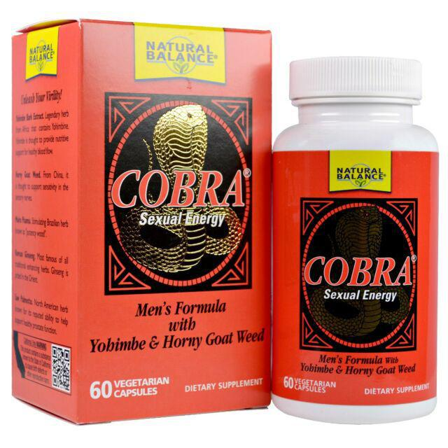 Cobra Sexual Energy - Natural Balance