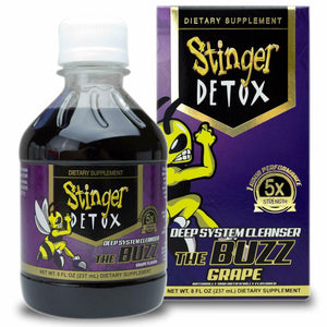 Stinger Detox 5X - Deep System Cleanser - Buzz Grape