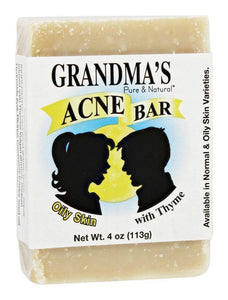 Acne Bar - 4 oz - Grandma's