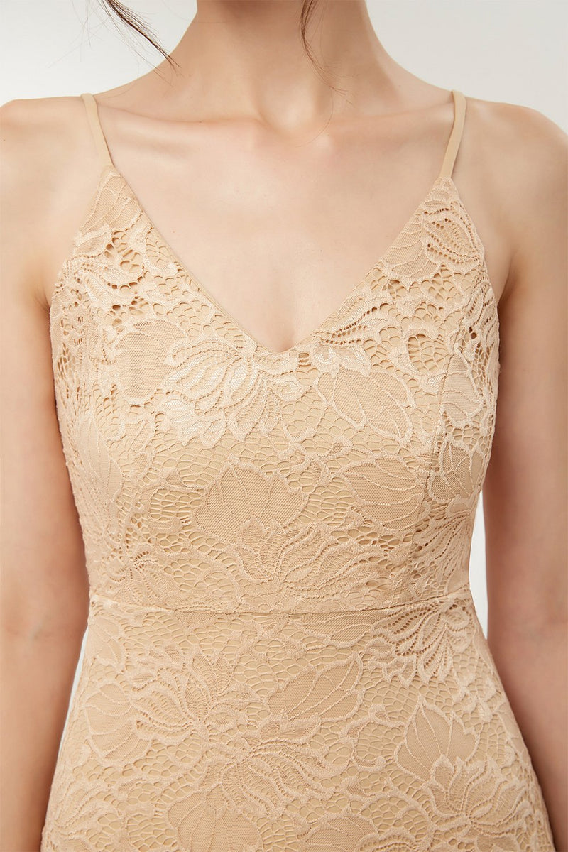 Load image into Gallery viewer, Straps Champagne Lace