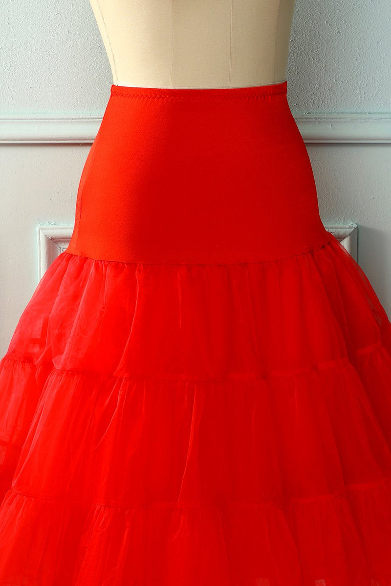 Load image into Gallery viewer, Red Tutu Petticoat
