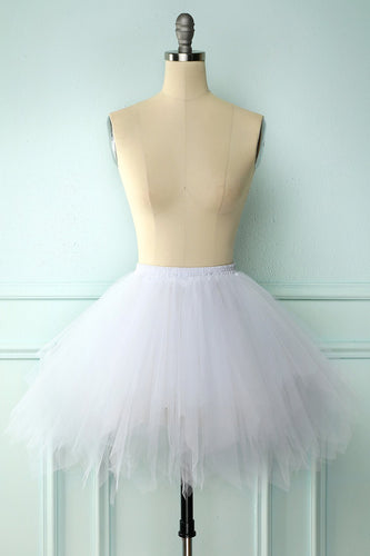 White Halloween Dance Skirt