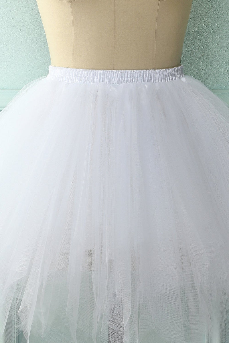 Load image into Gallery viewer, White Halloween Dance Skirt