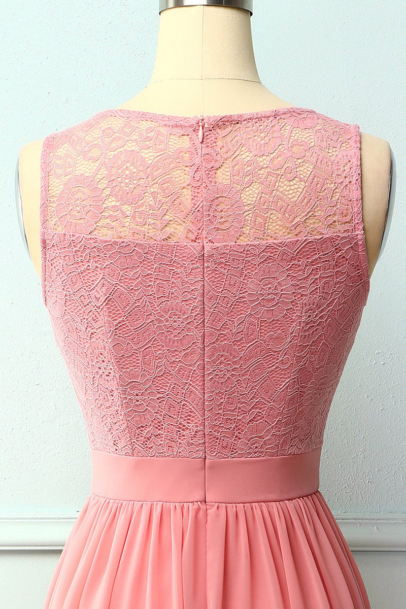 Load image into Gallery viewer, Blush Lace Long Dress