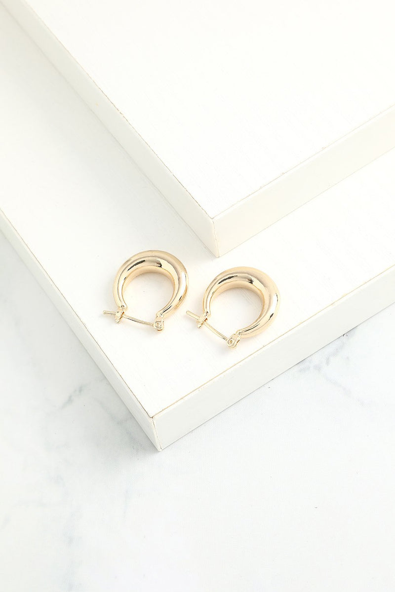 Load image into Gallery viewer, Simple Circle Earrings