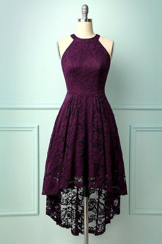 Grape Halter Lace