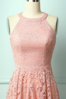 Blush Lace Dress