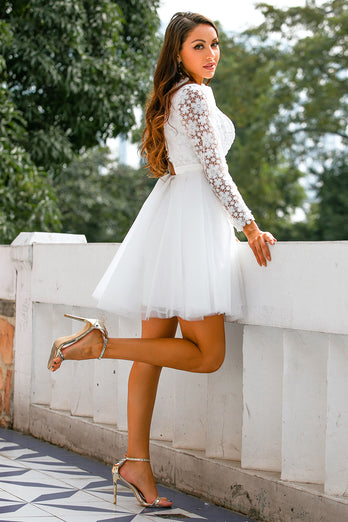 Short Bridal Dress