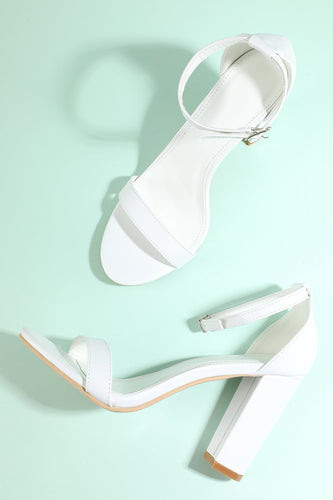 White Party PU Shoes