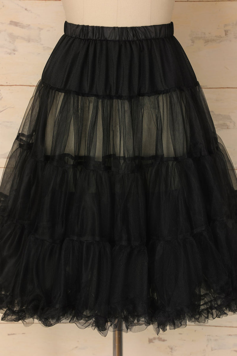 Load image into Gallery viewer, Black Tulle Petticoat - ZAPAKA
