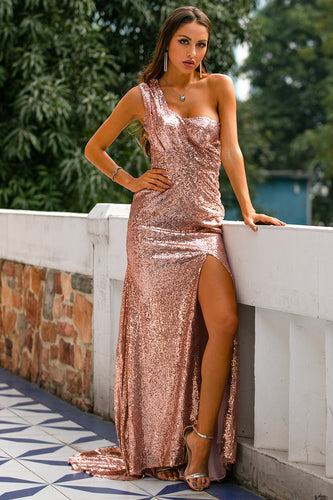 Sequin Prom Bridesmaid Dress