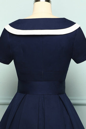 Navy Soldier Dress - ZAPAKA