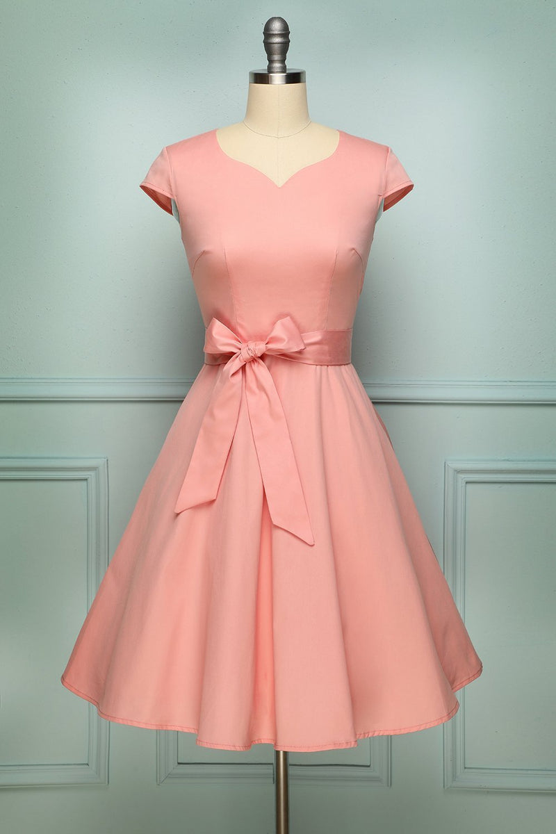 Load image into Gallery viewer, Pink 1950s Swing - ZAPAKA