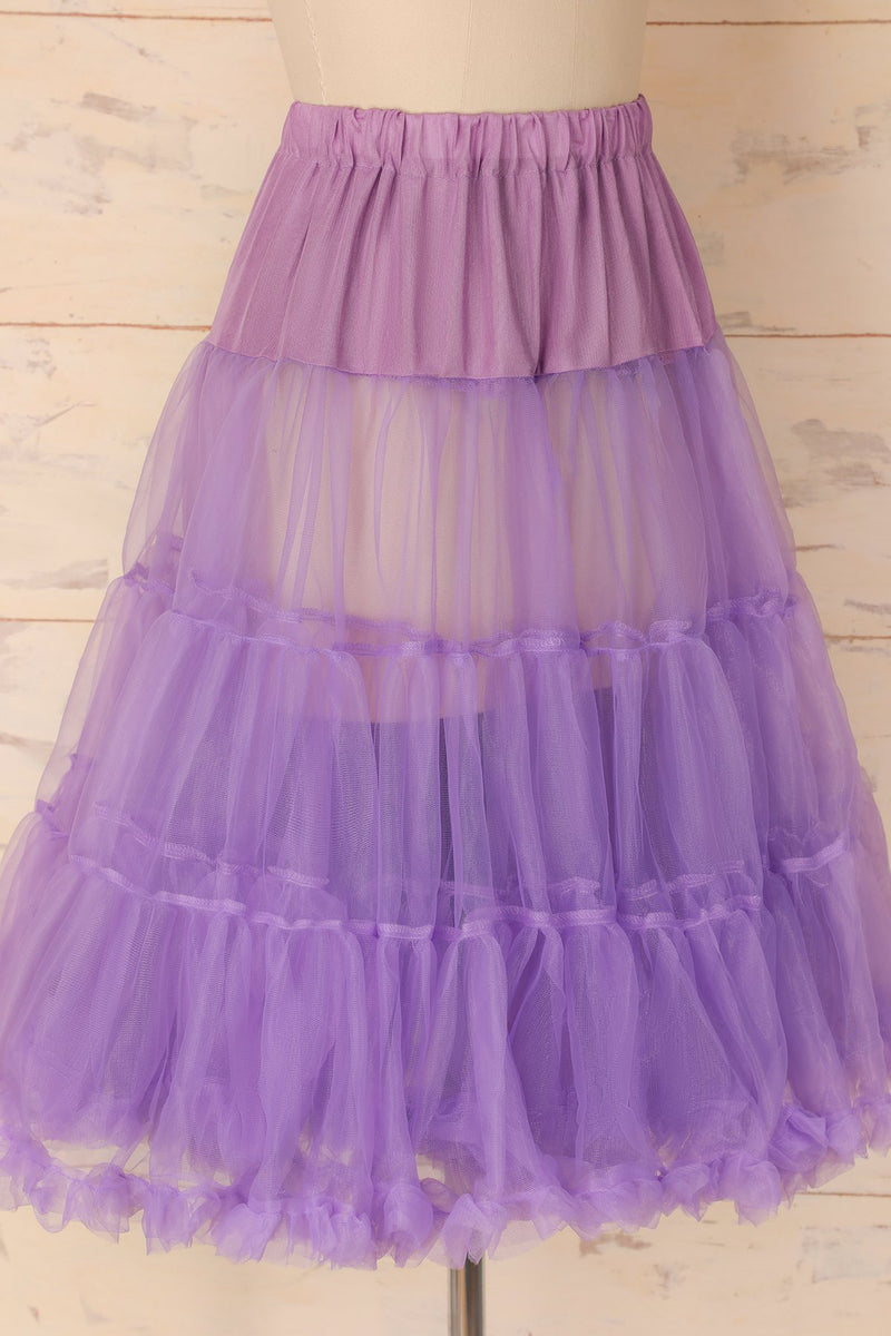 Load image into Gallery viewer, Purple Tulle Petticoat - ZAPAKA