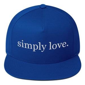 Simply Love Flat Rim Hat