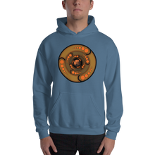Load image into Gallery viewer, Galactic Portal (Gold & Orange) ~ Unisex Hoodie