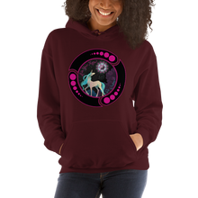 Load image into Gallery viewer, Be Cosmic Unicorn ~ Unisex Hoodie