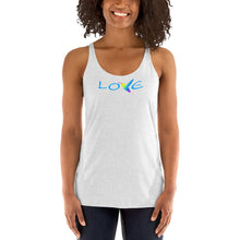 Load image into Gallery viewer, LOVE ~ Women's Racerback Tank Top