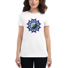 Load image into Gallery viewer, Rainbow Galactic Mandala Women's T-Shirt