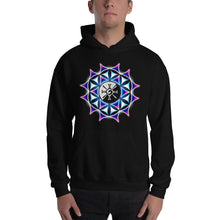 Load image into Gallery viewer, Rainbow Galactic Mandala ~ Unisex Hoodie