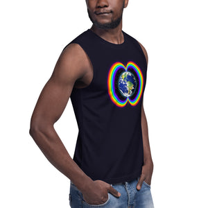 Rainbow Bridge ~ Unisex Sleeveless Shirt