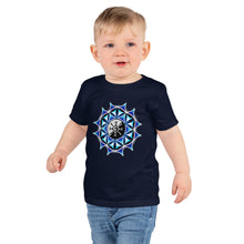 Load image into Gallery viewer, Galactic Mandala ~ Kid's (2-6 yrs) Unisex T-Shirt