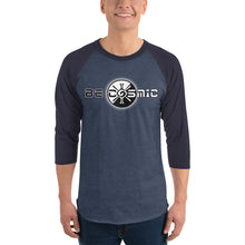 Load image into Gallery viewer, Be Cosmic ~ Unisex 3/4 Sleeve Shirt