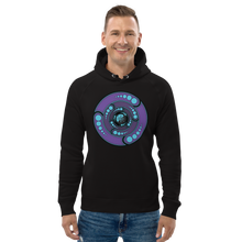 Load image into Gallery viewer, Galactic Portal (Purple & Turquoise) ~ Organic Cotton Unisex Hoodie