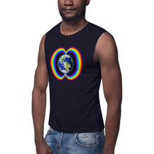 Load image into Gallery viewer, Rainbow Bridge ~ Unisex Sleeveless Shirt