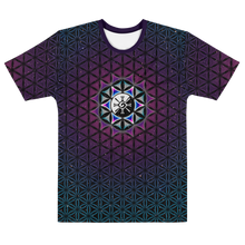 Load image into Gallery viewer, Galactic Mandala ~ Men's All-Over-Print T-shirt