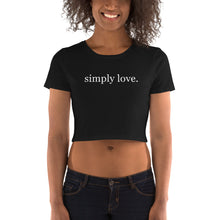 Load image into Gallery viewer, Simply Love ~ Women's Crop Tee