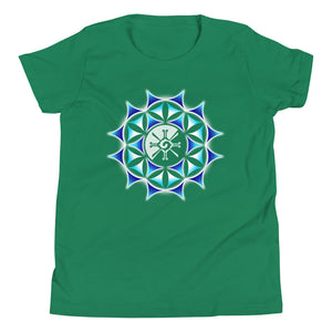 Galactic Mandala (Transparent) Youth Unisex T-Shirt