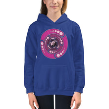 Load image into Gallery viewer, Galactic Portal - (Open Pink) ~ Kids Unisex Hoodie