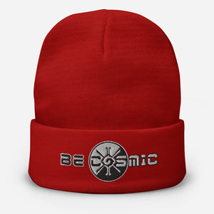 Be Cosmic ~ Embroidered Beanie