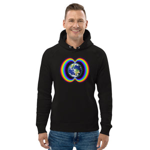 Rainbow Bridge ~ Organic Cotton Unisex Hoodie