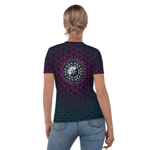 Galactic Mandala ~ Women's All-Over-Print T-shirt