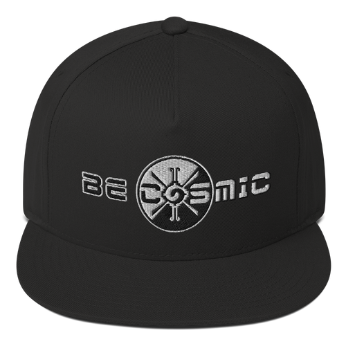 Be Cosmic Flat Rim Hat