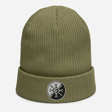 Load image into Gallery viewer, Hunab Ku ~ Organic Cotton Beanie