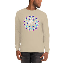 Load image into Gallery viewer, Galactic Mandala (Transparent) Unisex Long Sleeve Shirt