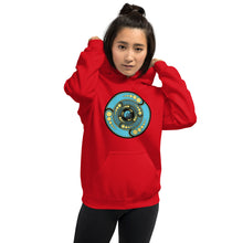 Load image into Gallery viewer, Galactic Portal - (Turquoise & Gold) ~ Unisex Hoodie
