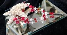 Load image into Gallery viewer, Red Ruby Pearl Bracelet