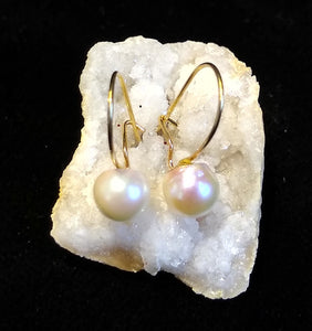 14K Pearl Earrings