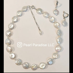 Legacy Coin Pearl Necklace