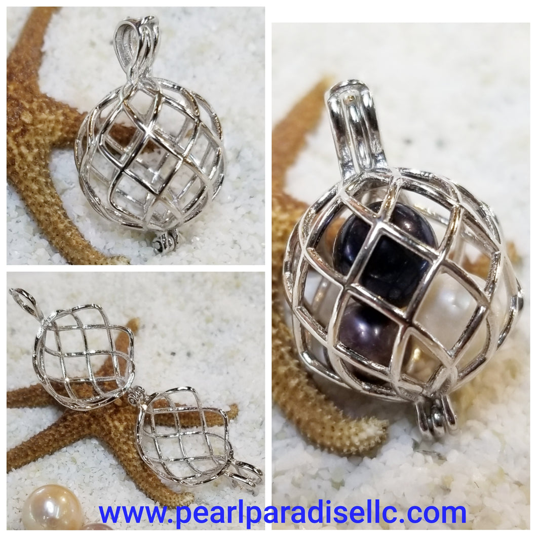 Large Ball Cage Pendant