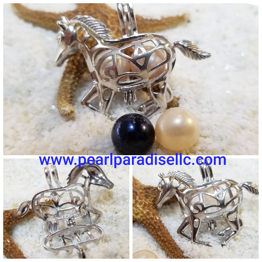 Horse Cage Pendant